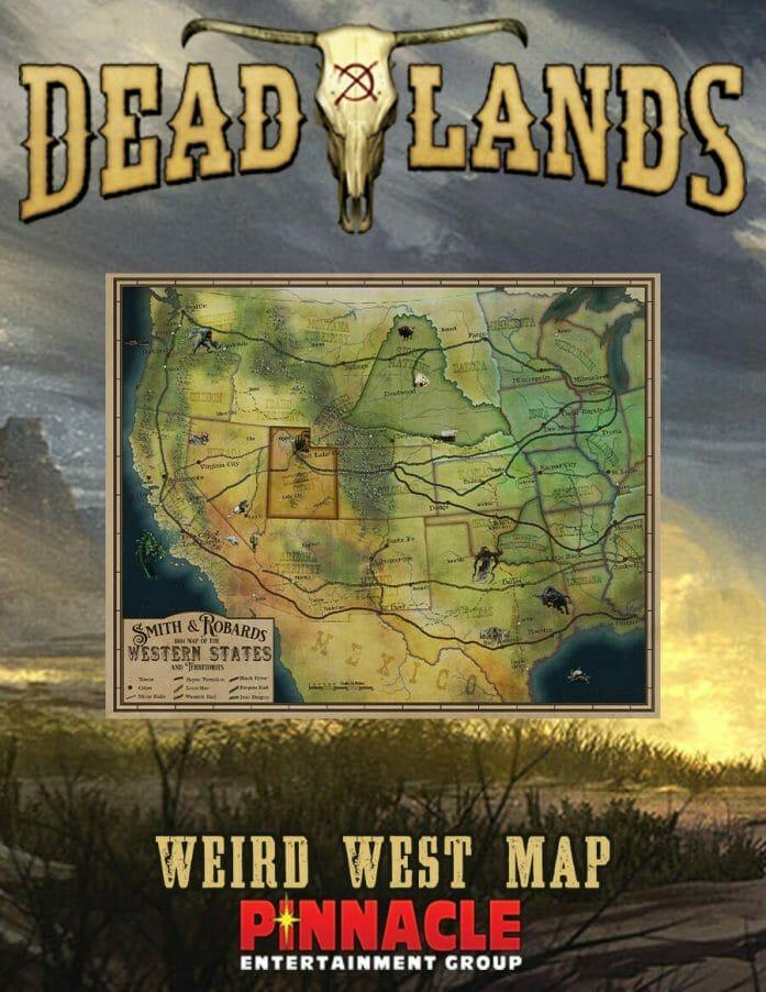 Deadlands Weird West Map