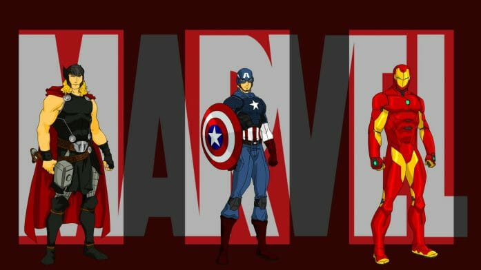 Marvel Wallpaper - Avengers 01 by Joao Norberto