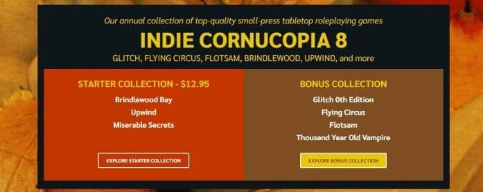 Indie Cornucopia 8