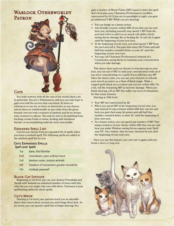 Granblue Fantasy conversion for D&D 5e