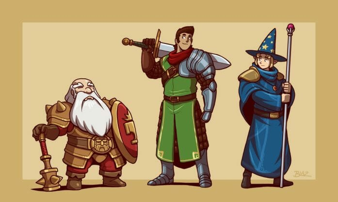 DnD Party by Blazbaros