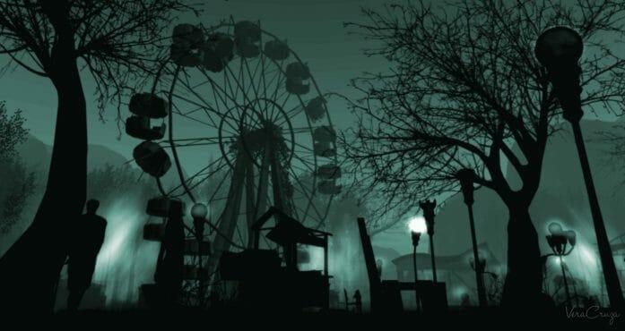 Post Apocalyptic Theme Park by veracruzacortes.