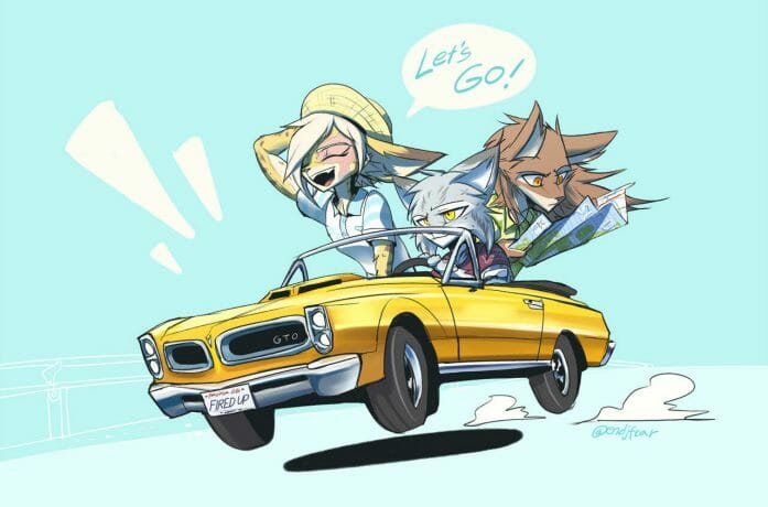 Summer Drive! by oLEEDUEOLo