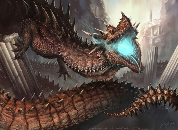 Dragon by Arvalis