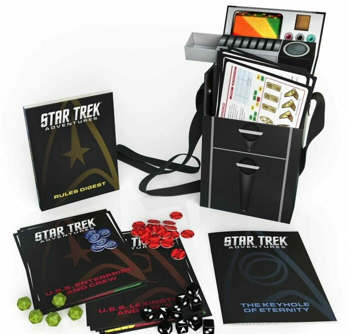 Modiphius has had the license from CBS to make Star Trek miniatures and the Star Trek Adventures RPG since 2016.