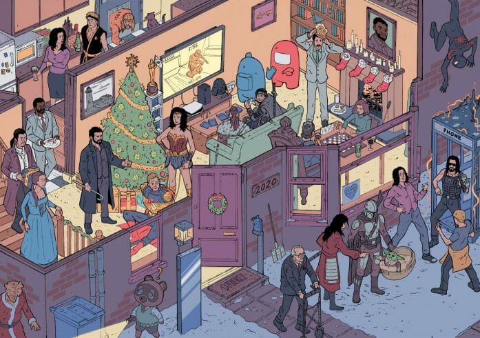 Pop culture challenge by Laurie Greasley
