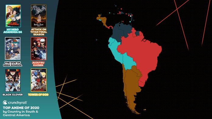 Crunchyroll South America