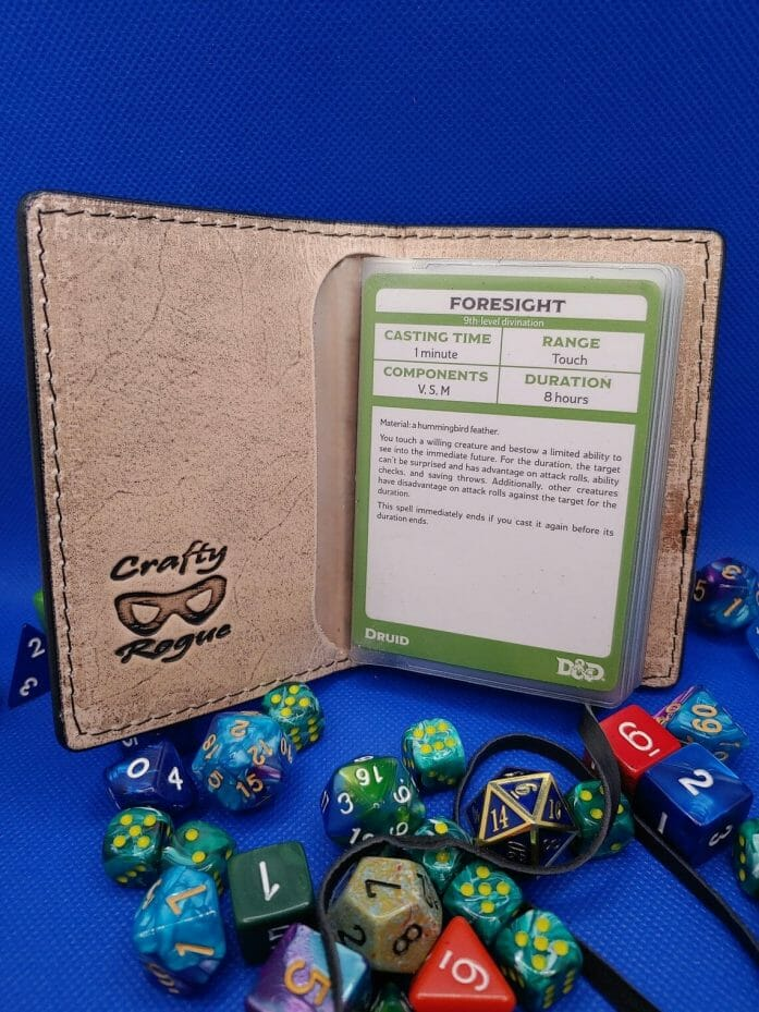 The Crafty Rogue's Spell card book