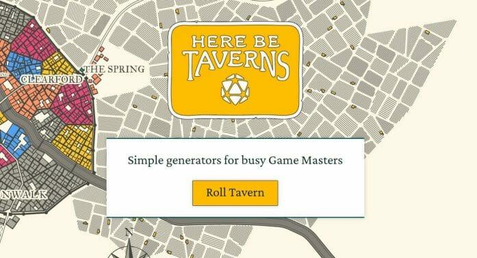 Here Be Taverns