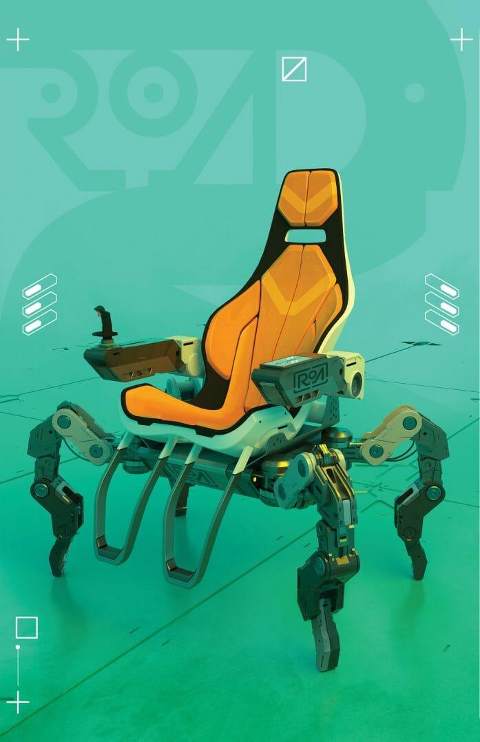 Cyberpunk RED spider chair