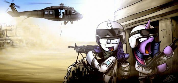 Friendly Chopper Inbound by Dori-to