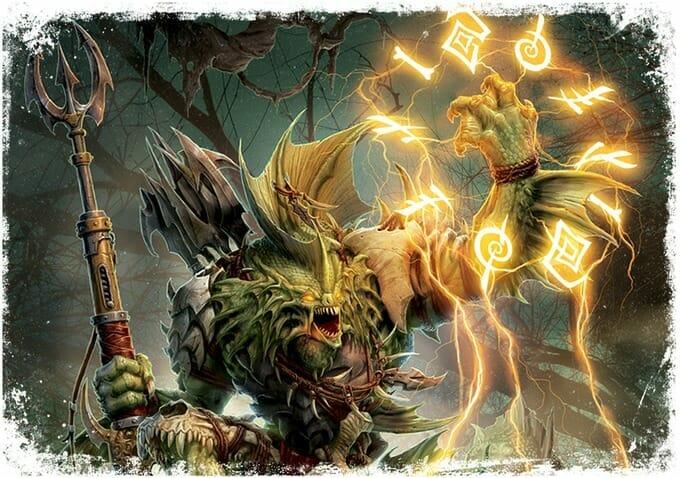 Iron Kingdoms monster