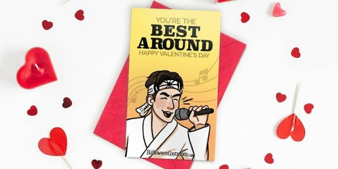 The Karate Kid Valentine Card