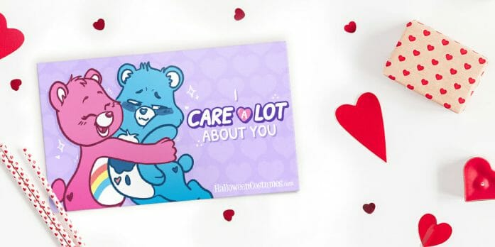 Care Bears Valentine Card