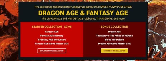 Dragon AGE & Fantasy AGE