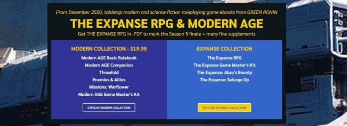 The Expanse RPG & Modern AGE