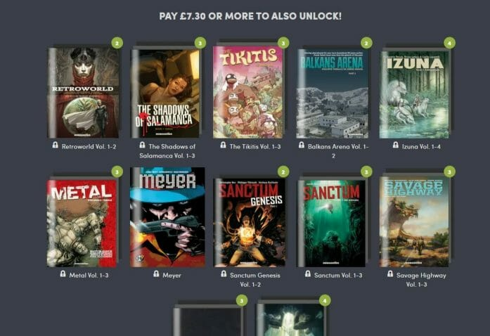 Moebius and other ebooks from Humanoids in Humble Bundle deal