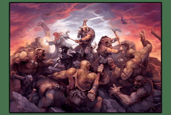 Thrones & Bones - Norrøngard 5e setting
