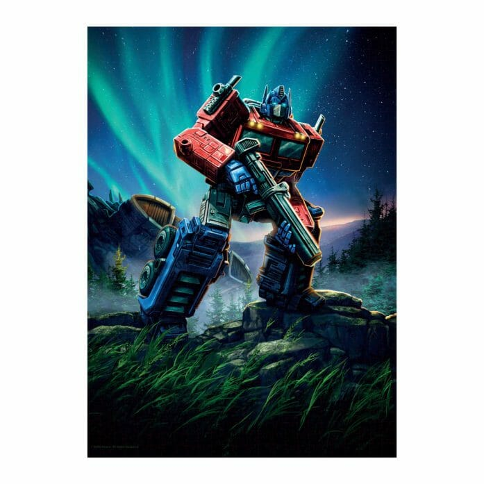 Transformers: Optimus Prime 1,000pc jigsaw