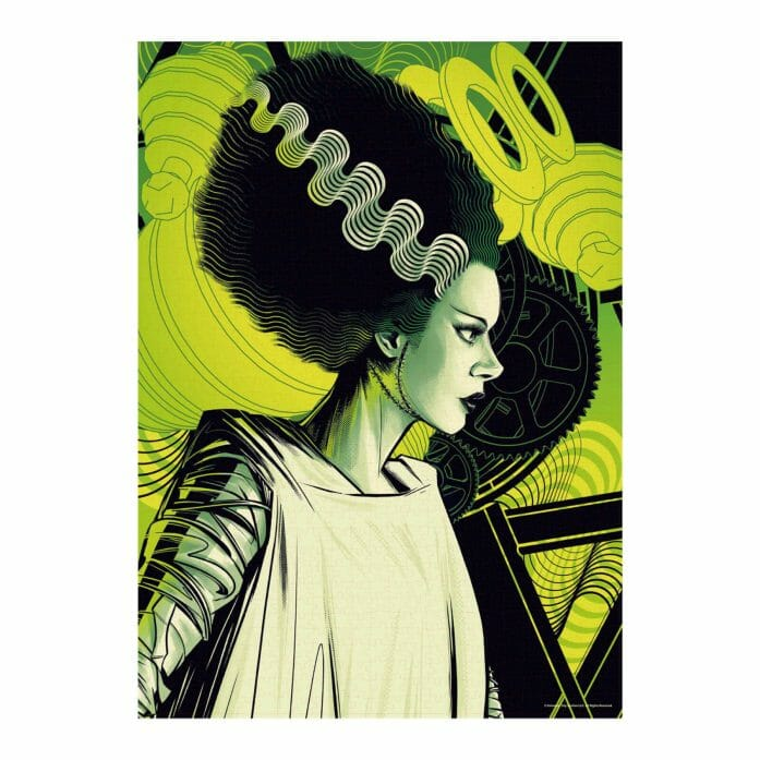 The Bride of Frankenstein 1,000pc jigsaw