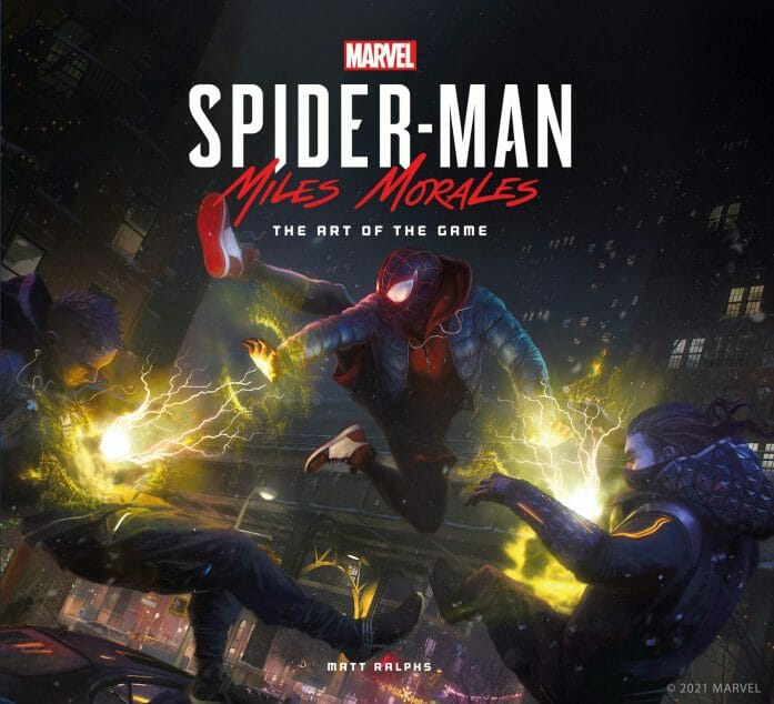 Marvel's Spider-Man: Miles Morales The Art of the Game Hardcover