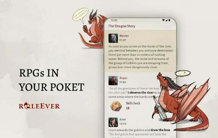 RPGs in your pocket: RoleEver