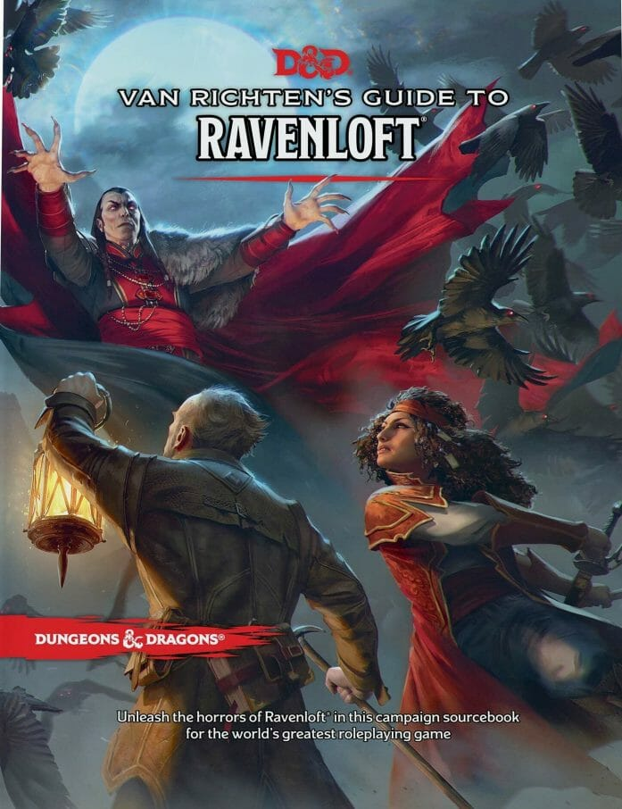 Van Richten's Guide to Ravenloft cover