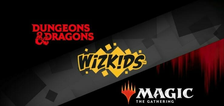 Dungeons & Dragons / Magic: The Gathering with WizKids