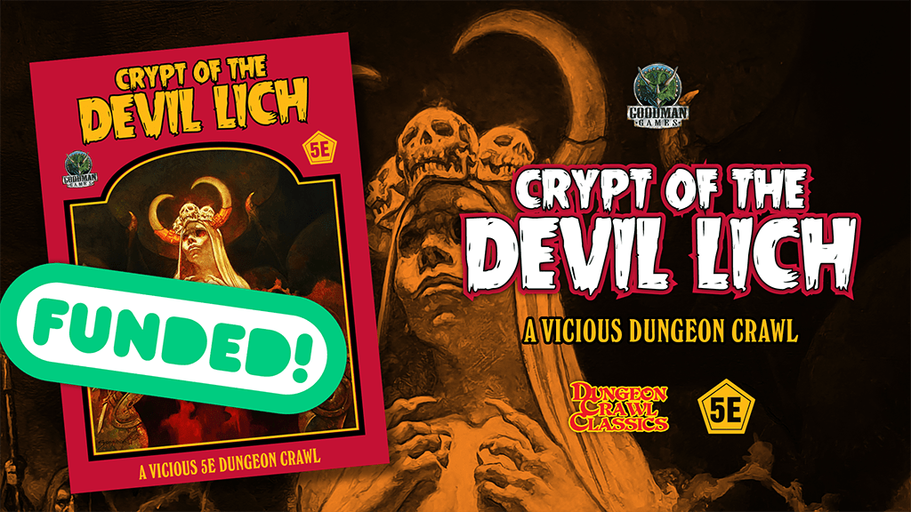 Goodman Games' Crypt of the Devil Lich