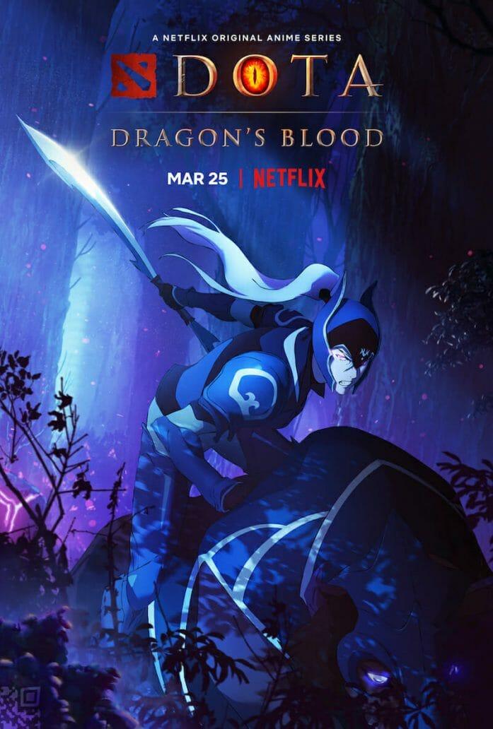 Dragon's Blood character art