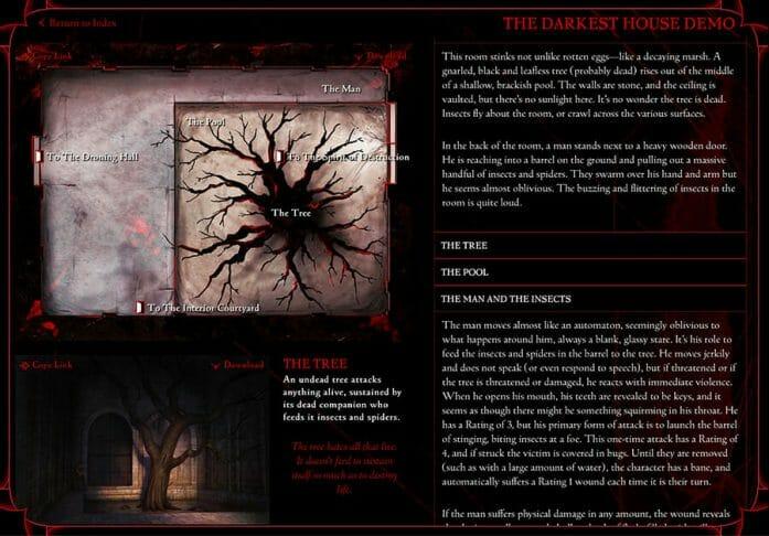 The Darkest House demo