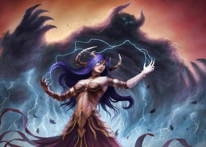 Storm Sorceress by captdiablo