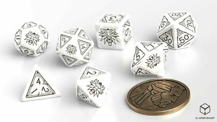 Geralt: The White Wolf game dice site
