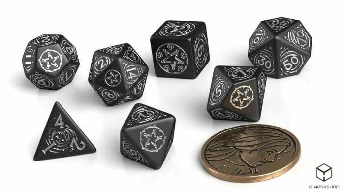 Yennifer: The Obsidian Star game dice set