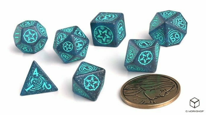 Yennifer: Sorceress Supreme game dice set