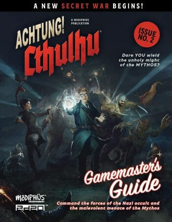 Achtung! Cthulhu 2d20 gamemaster's guide