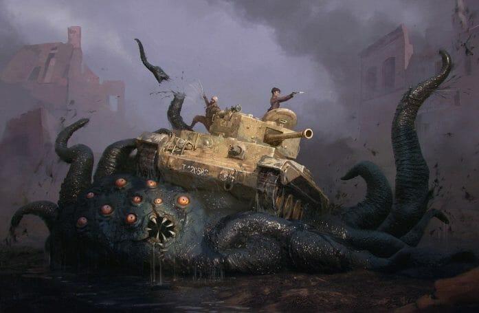Achtung! Cthulhu 2d20 tanks