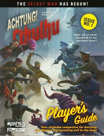 Achtung! Cthulhu 2d20 player's guide