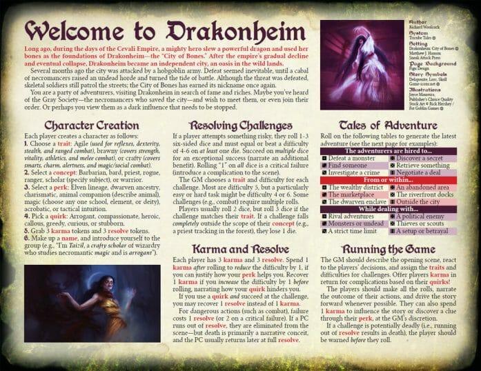 Welcome to Drakonheim page 1
