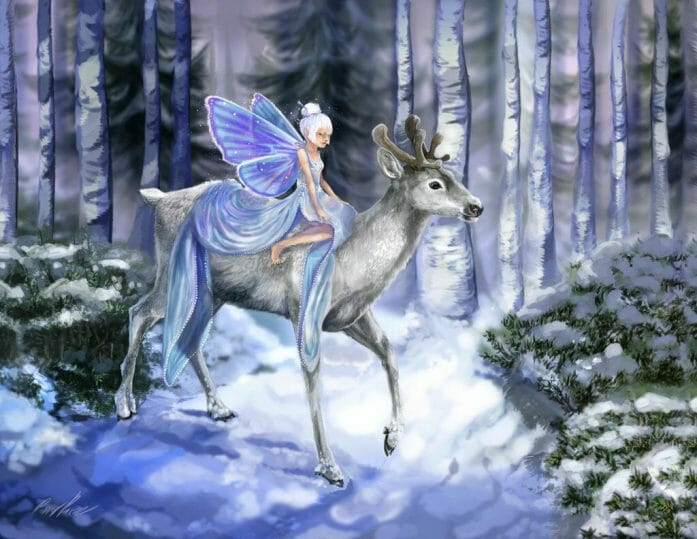 Snow Fey by Inkserval