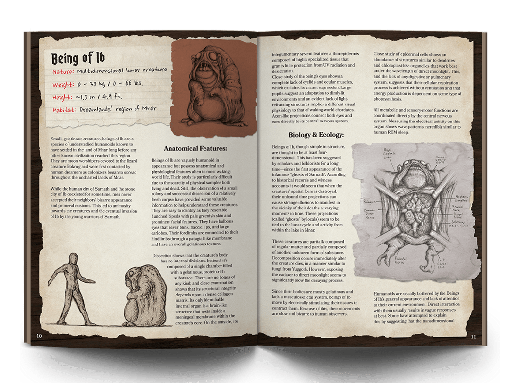 The Anatomical Guide to Lovecraftian Horrors