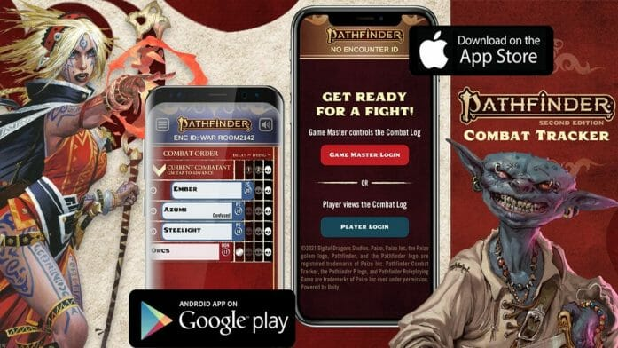 Pathfinder 2e Combat Tracker app