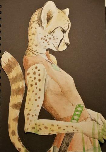 Character art by Rebecca Eveleigh