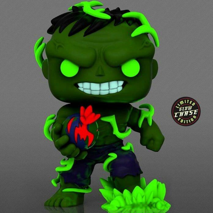 Glowing Immortal Hulk