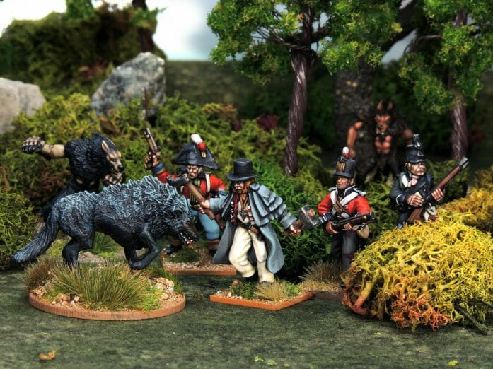 North Star Military Figures for The Silver Bayonet