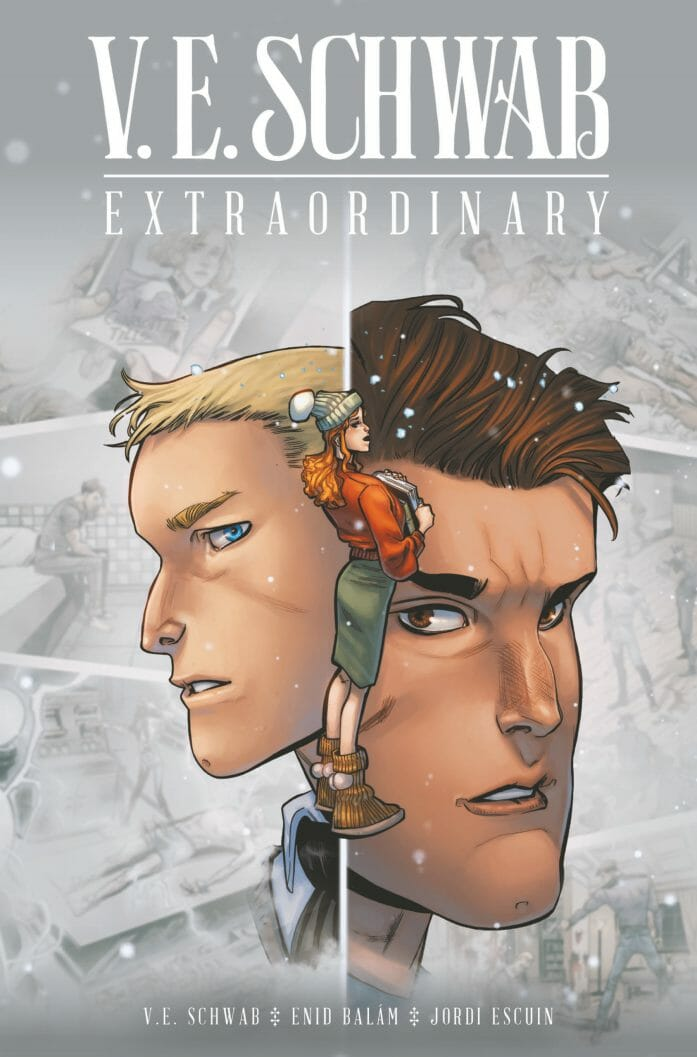 ExtraOrdinary 1 cover B by Enid Balam