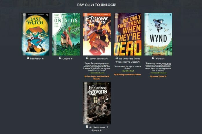 Humble Comic Bundle: The Bear Year of Boom! Studios