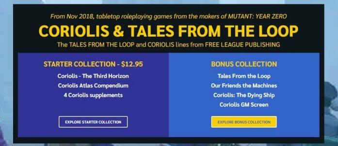 Coriolis & Tales from The Loop
