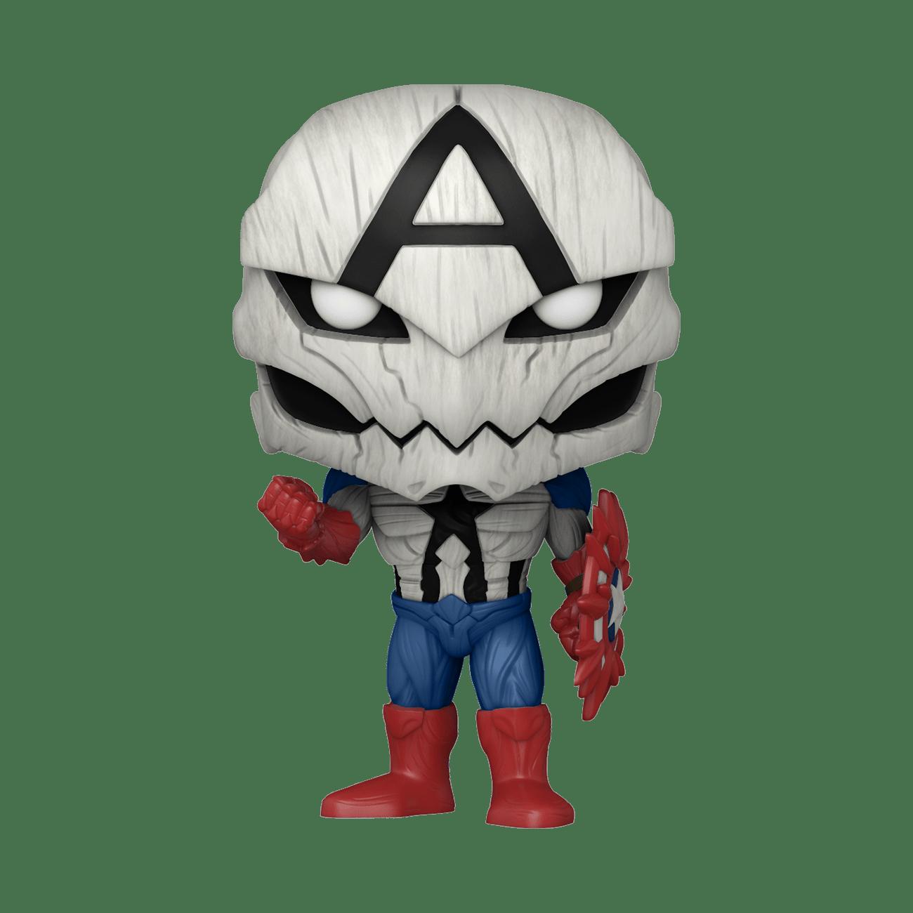Poisoned Captain America