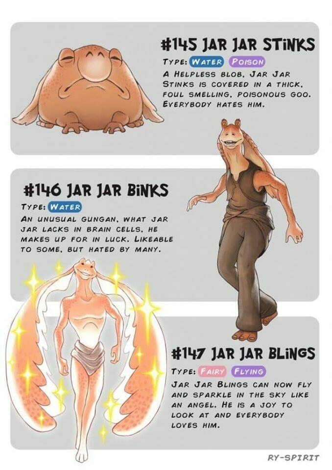 Jar Jar Binks Pokemon